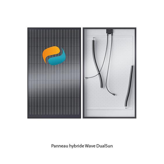 Panneau solaire hybride Wave Dualsun