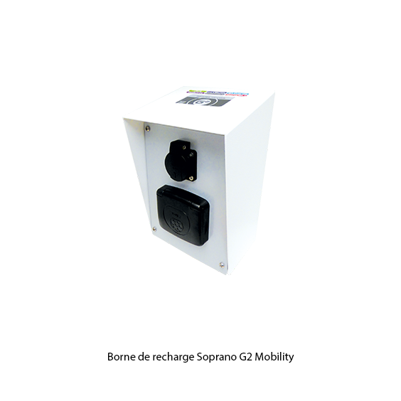G2 Mobility borne de recharge Soprano