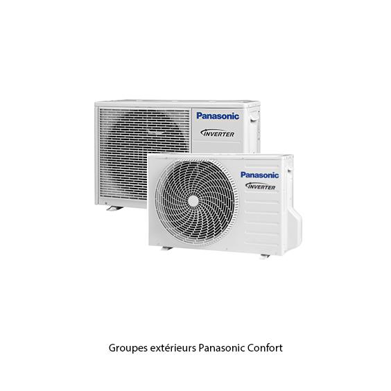 Groupes extérieures Panasonic Confort