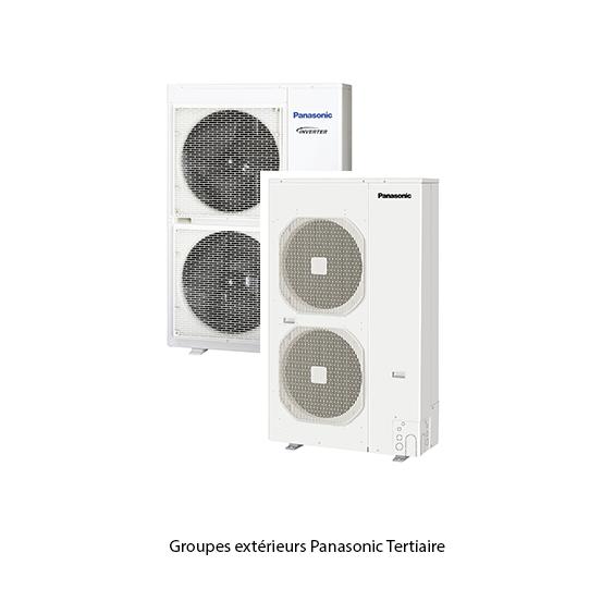 Groupes extérieurs tertiaire Panasonic