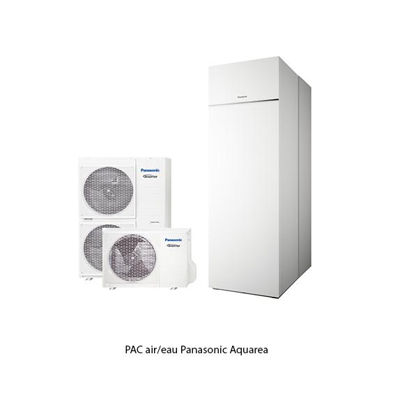 Panasonic PAC air/eau Aquarea