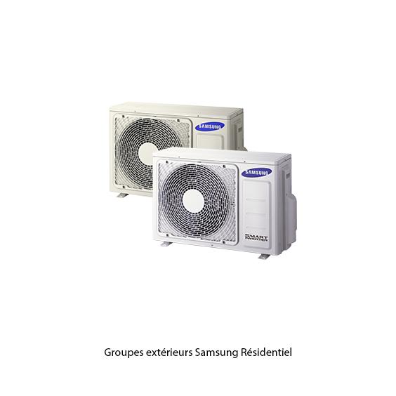 Groupes extérieurs Samsung Résidentiel