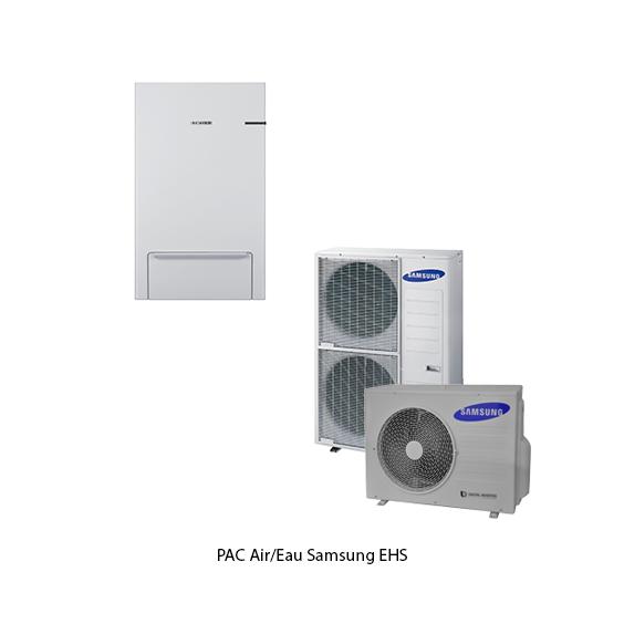 PAC air/eau Samsung EHS