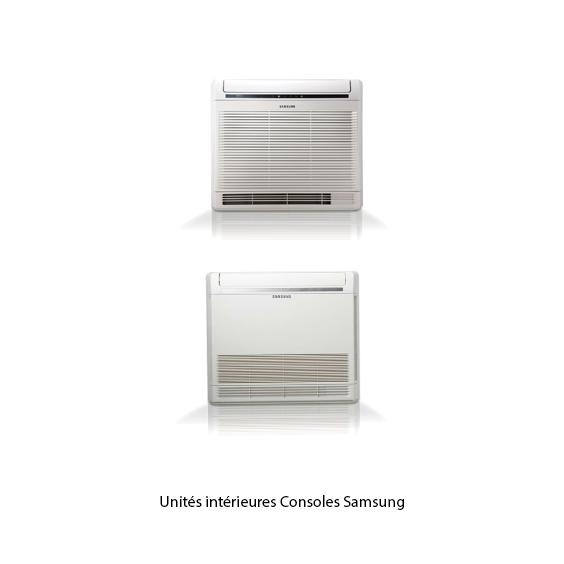 Unités intérieures Samsung consoles
