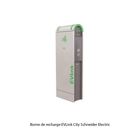 Borne de recharge EV Link City