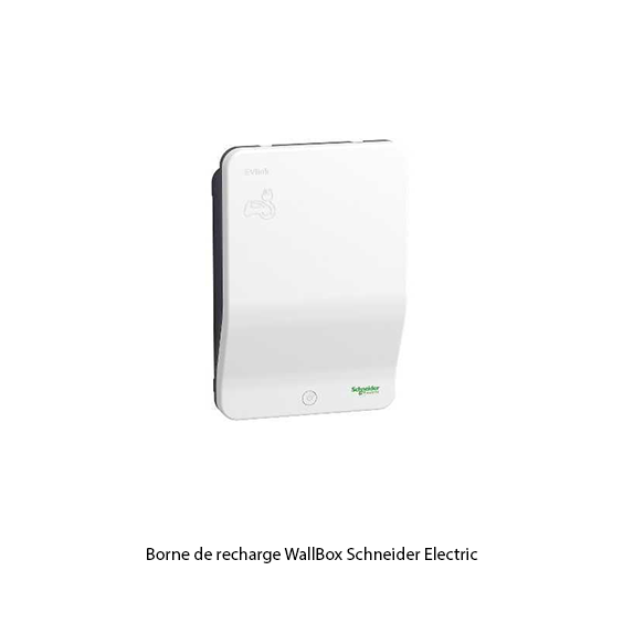 Borne de recharge Wallbox