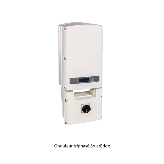 SolarEdge onduleur triphasé