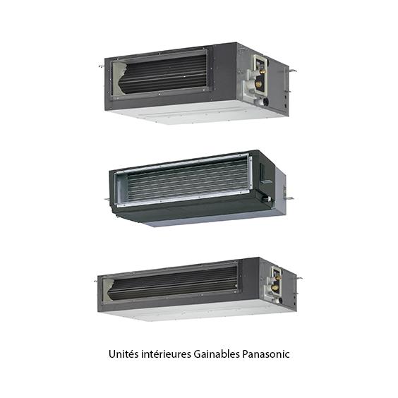 Unités intérieures gainables Panasonic