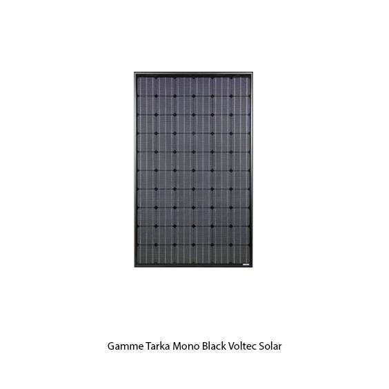 Voltec Solar module photovoltaïque Tarka Mono black