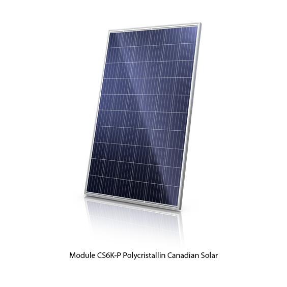 Canadian Solar CS6K-P polycristallin