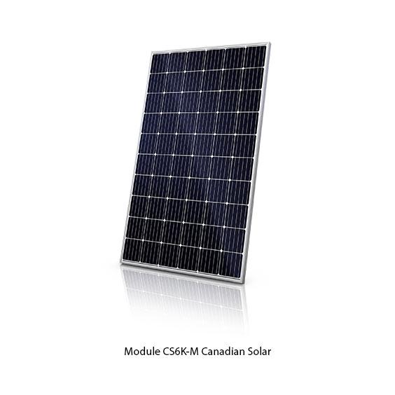 Canadian Solar module photovoltaïque CS6K-M monocristallin 285 Wc