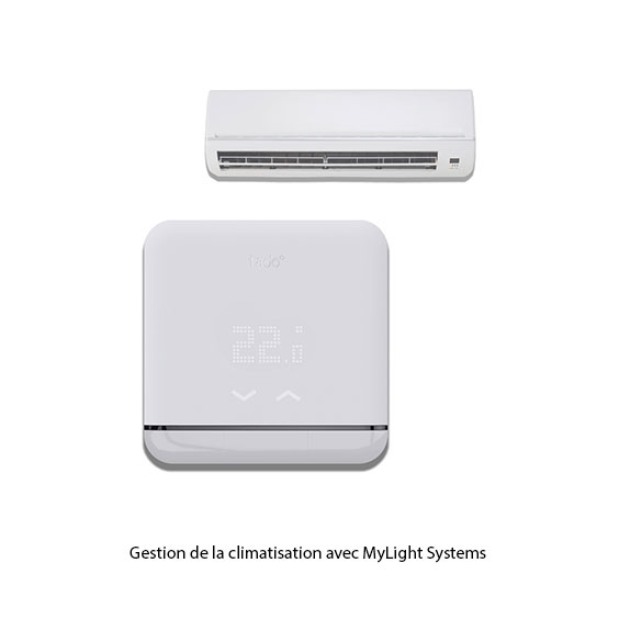 Gestion de le climatisation avec MyLight Systems