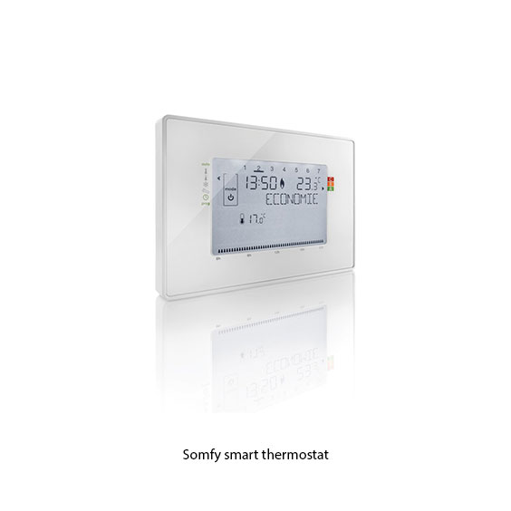 Somfy smart thermostat
