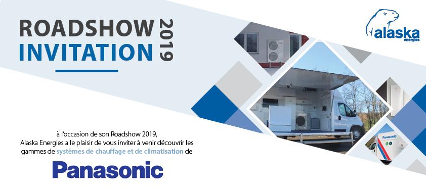 Roadshow Alaska Energies et Panasonic 2019